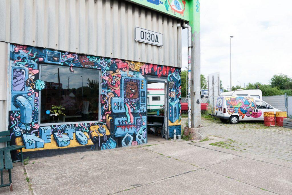 street art Gent Belgium