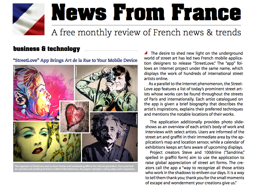 News from France