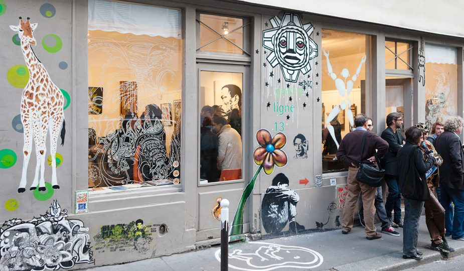 Street art gallery Ligne 13 Paris