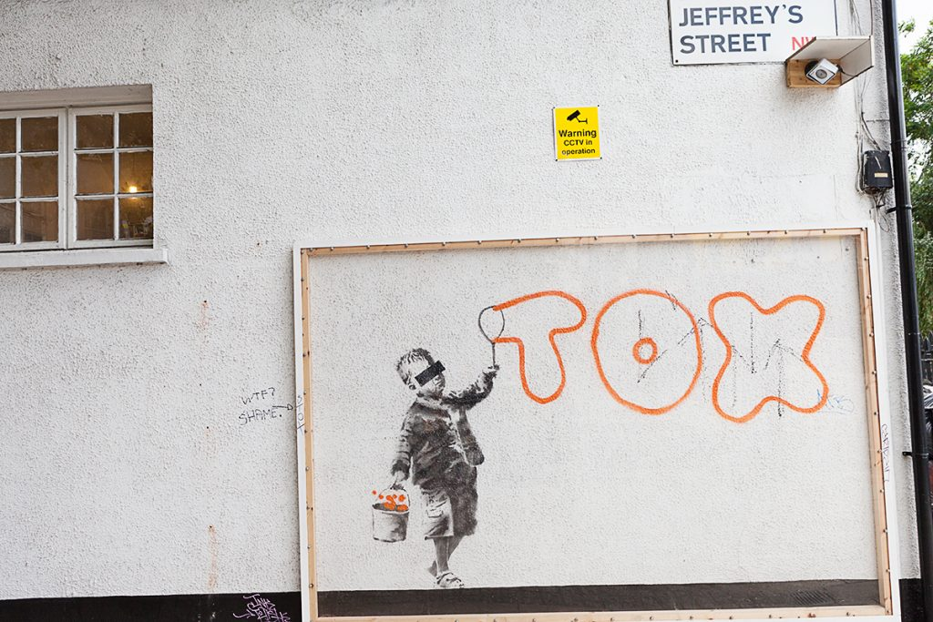 StreetLove Banksy London