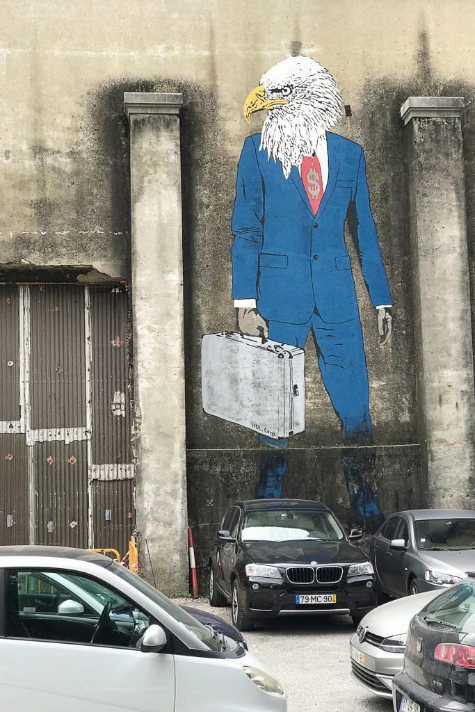 Lisboa street art LX factory