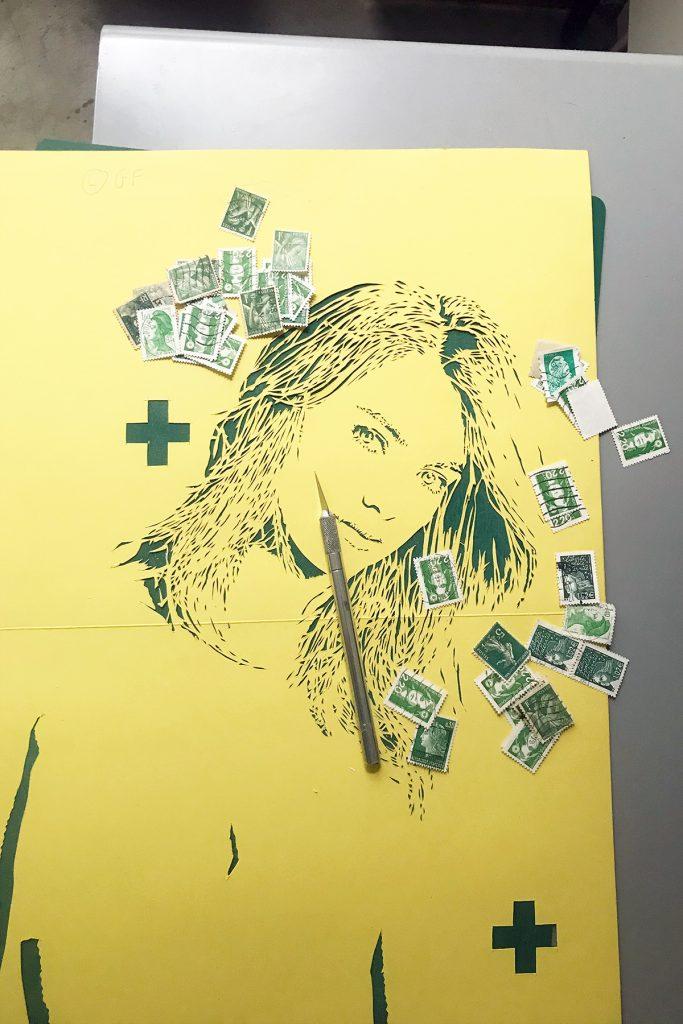 S+C street art Paris