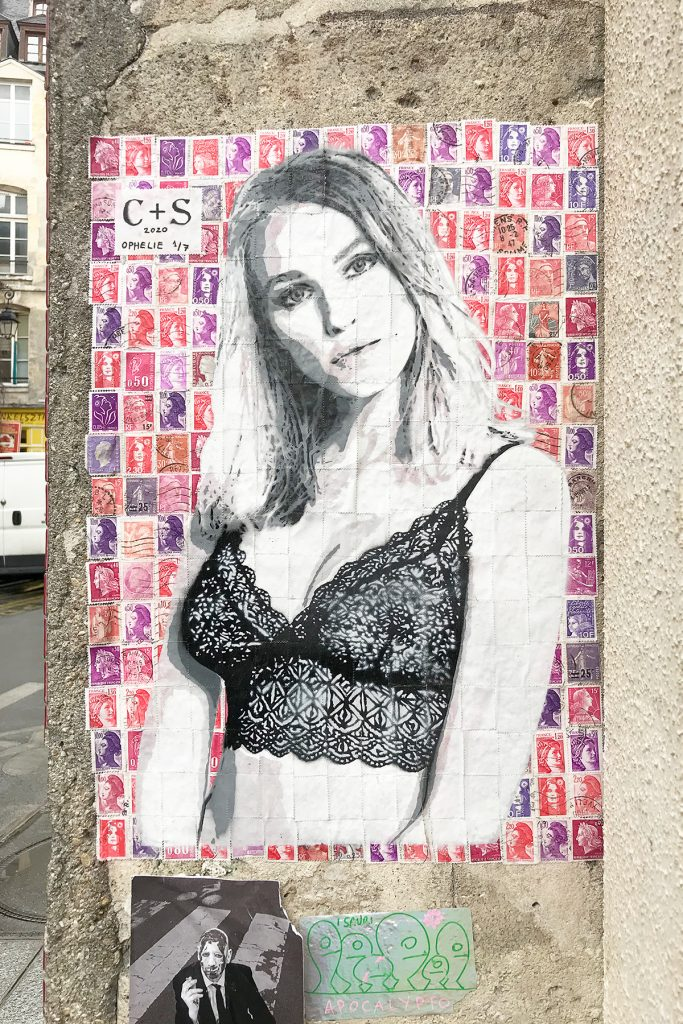 S+C street art Paris